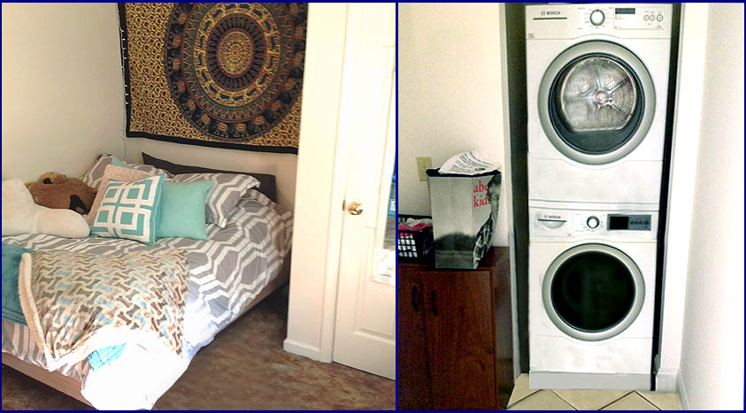 140 Noble Apt-A bedroom - washer & dryer