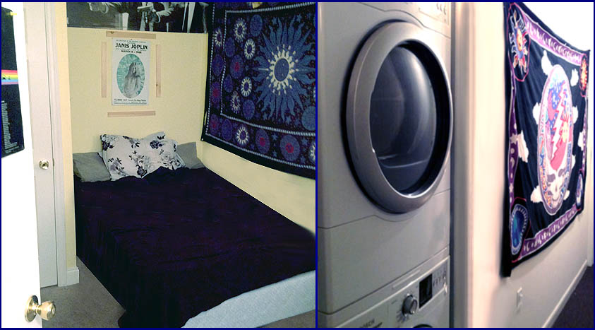 420 W Main Apt-A bedroom - washer & dryer